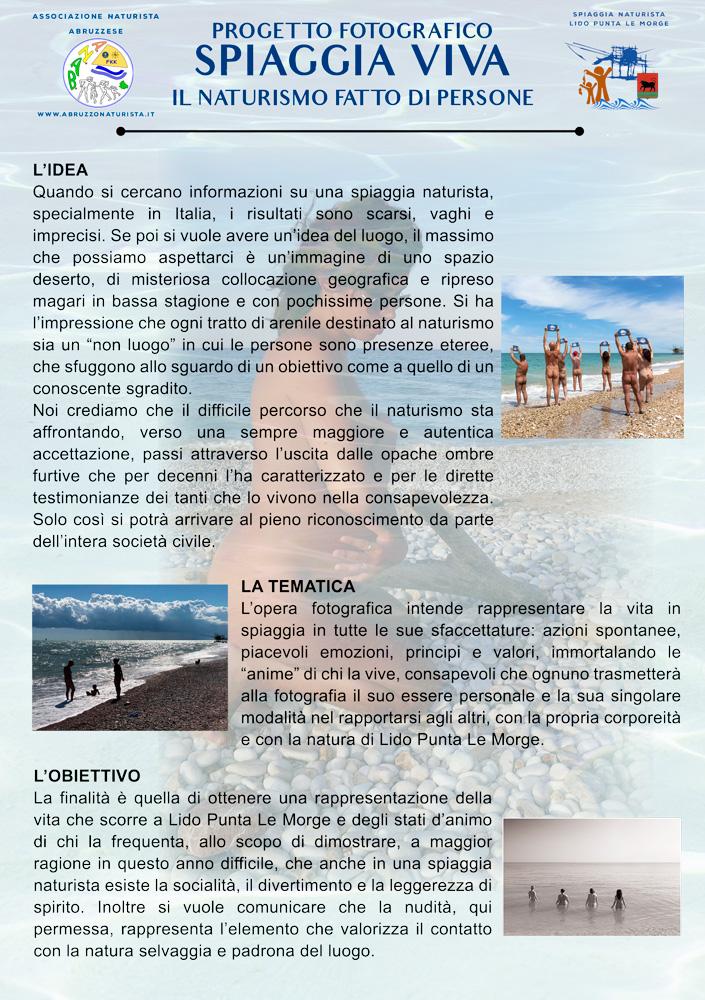 Volantino Spiaggia Viva fronte