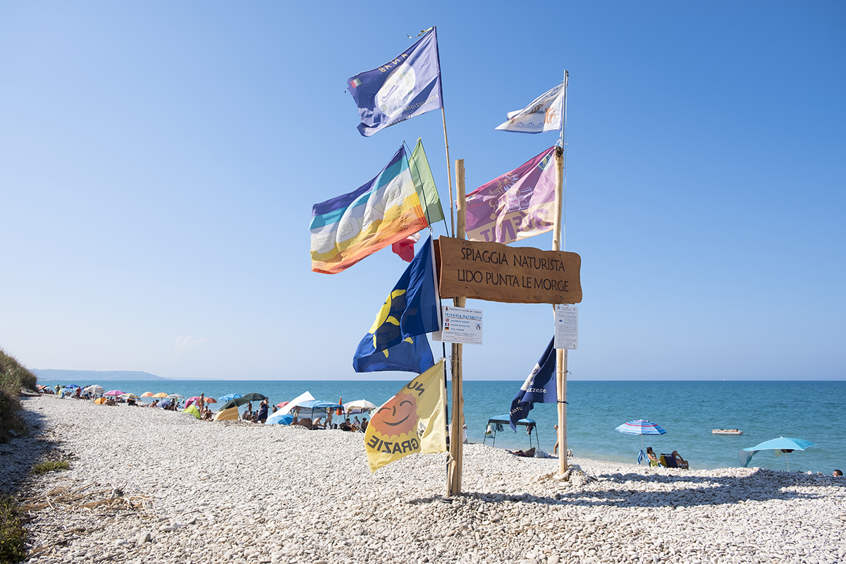 Bandiere spiaggia Le Morge