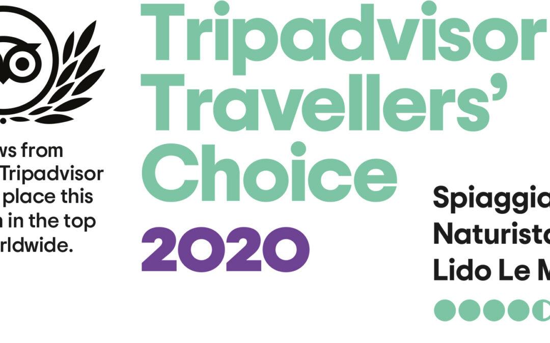 Ad una spiaggia naturista italiana il TripAdvisor Travellers' Choice 2020