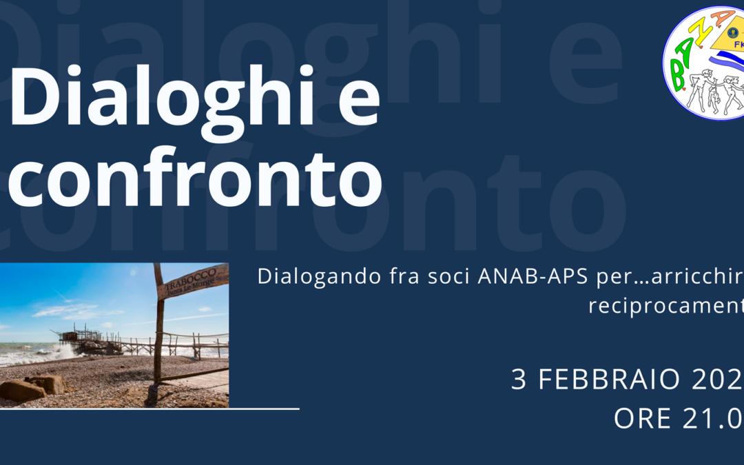 Web-Anab | Dialoghi e confronto – 3 febbraio 2021