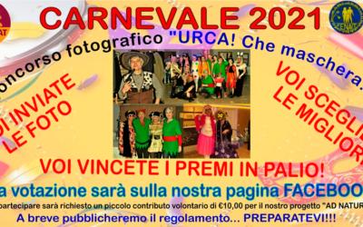 3VENAT – Carnevale 2021 – Urca! Che maschera!