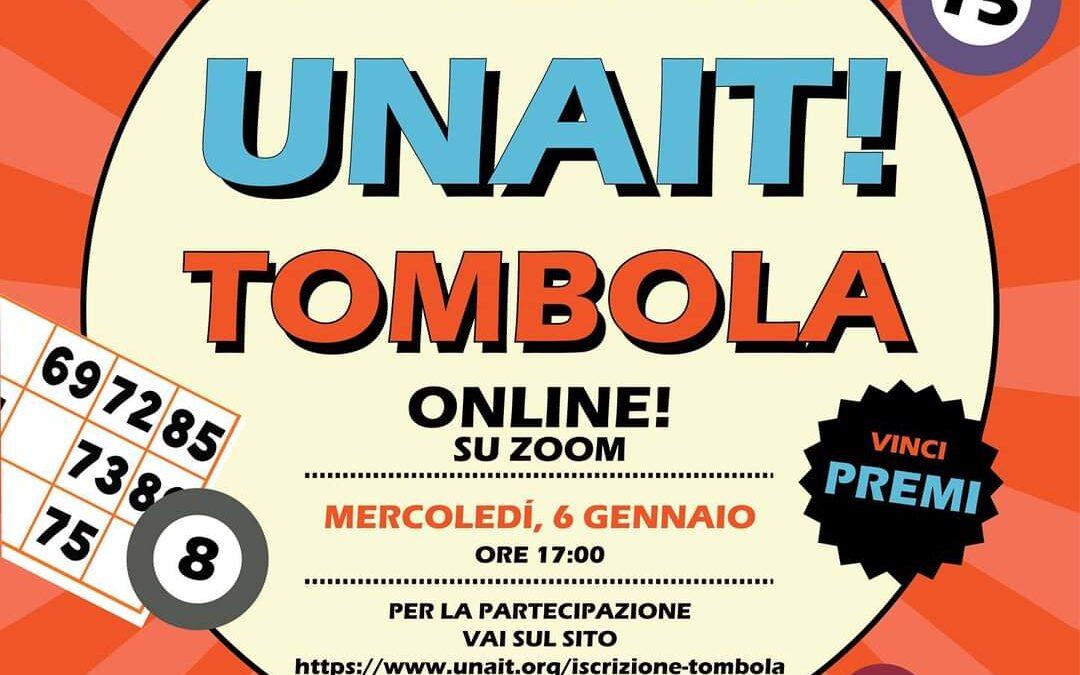 UNAIT! Tombola online