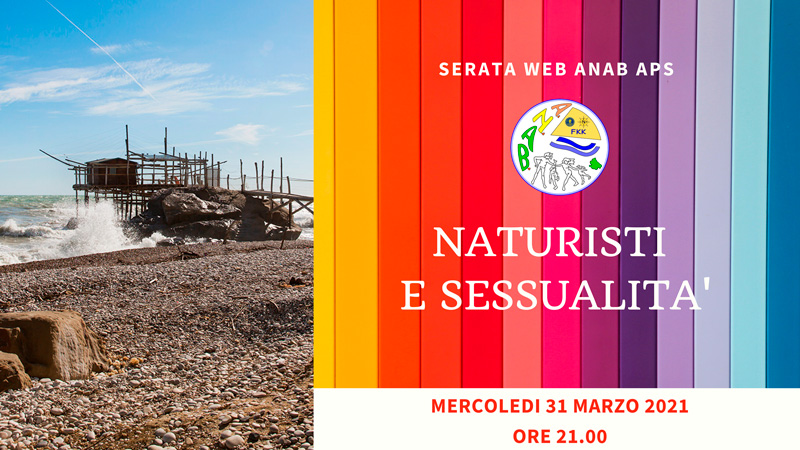 Web-Anab | Naturisti e Sessualità | 31 marzo 2021