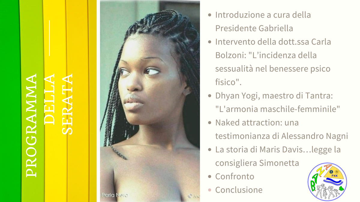 Web-Anab | Naturisti e Sessualità | 31 marzo 2021 - Fenait
