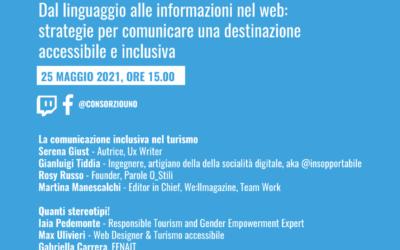 Destinazione for all: dal linguaggio alle informazioni nel web