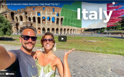 Our Big Naked Italian Road Trip 2021- Ep1-Arrivo in Italia