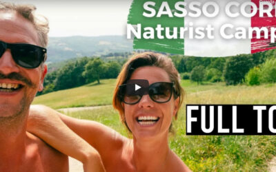 Our Big Naked Italian Road Trip 2021- Ep9 – Sasso Corbo – Toscana