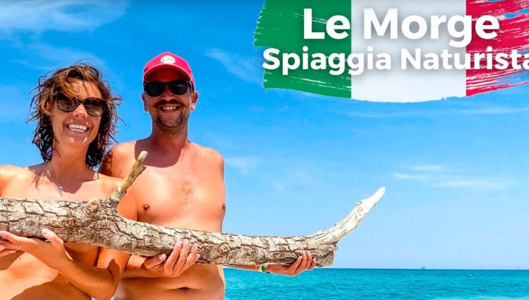 Our Big Naked Italian Road Trip 2021- Ep6- Lido Punta Le Morge- Abruzzo