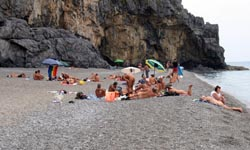Spiaggia del Troncone - Marina di Camerota